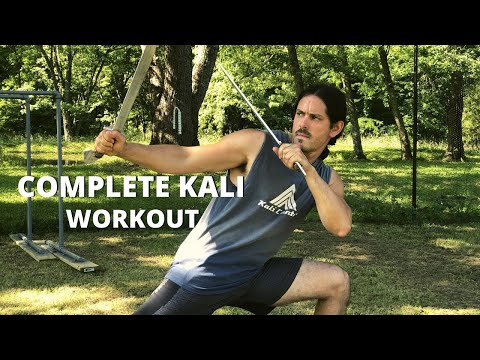 COMPLETE Kali Escrima Workout - Follow Along