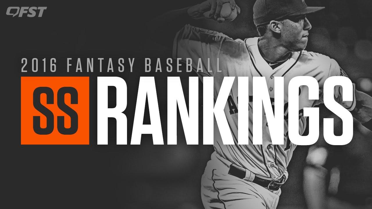 2016 Fantasy Baseball Shortstop Rankings thumbnail