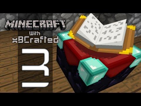 xB Plays Minecraft - Season 2 Ep 3 - Enchanting & World Seed!