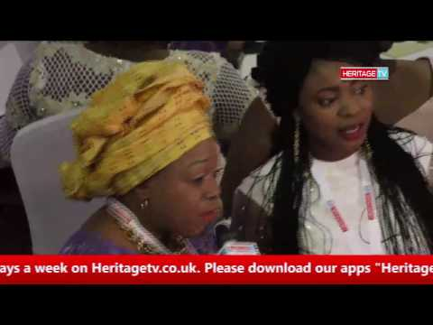"Bunmi West Interview Guest @ An Evening With Ooni Of Ife ""Heritage TV"