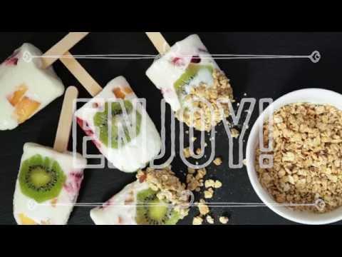 Video: Vyrobte si zdravé ovocné nanuky