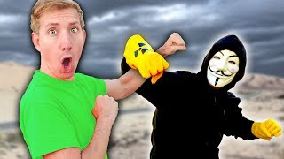 CWC vs PROJECT ZORGO in Real Life NINJA BATTLE ROYALE & Chase Searching for Abandoned Riddles