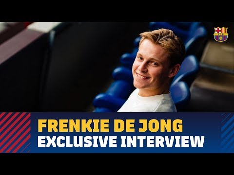Frenkie de Jong: 'I like to have the ball a lot and to play possession'
