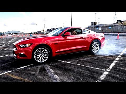 STUNT DRIVING with FORD: Go Faster Event