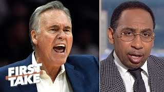 Video Mike D'Antoni can't coach the Rockets to a championship - Stephen A. | First Take MP3, 3GP, MP4, WEBM, AVI, FLV Juni 2019