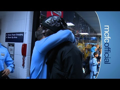 tunnel - Mario Balotelli is back where it all began in the Premier League meeting his former teammates. All the exclusive behind the scenes footage of Man City's 3-1 win over Liverpool. Two goals from...