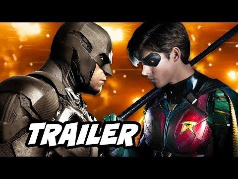 Titans Finale Trailer - Batman vs Robin Breakdown