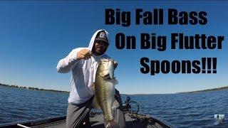 Video Lake Fork Fall Bass Fishing: Big Bass on Big Spoons!!! MP3, 3GP, MP4, WEBM, AVI, FLV Oktober 2018