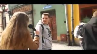 Za**biście jej pocisnął! Młody typek konkretnie zaorał reporterkę w sondzie ulicznej!