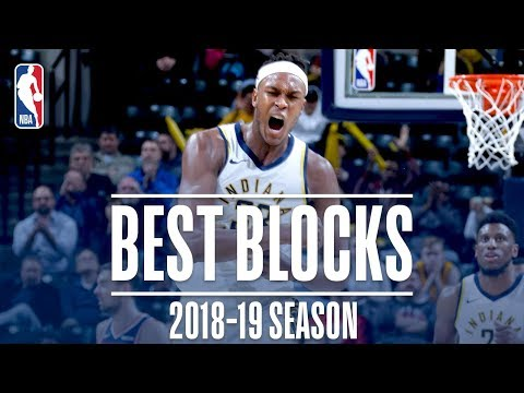 Video: Myles Turner's Best Blocks | 2018-19 Season | #NBABlockWeek