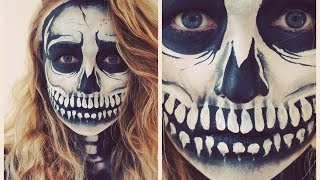Halloween Skull Make Over