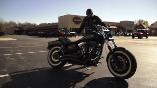 1. 2009 Harley-Davidson Dyna Fatbob FXDF Vance & Hines Big Radius and Solo Headlamp