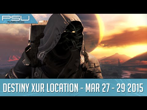 Destiny Xur Location and Items March 27-29, 2015