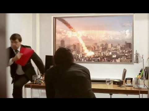 LG Ultra HD 84″ TV PRANK (METEOR EXPLODES DURING JOB INTERVIEW)