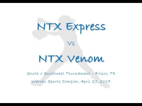NTX Express vs NTX Venom 4-29-2017 (видео)