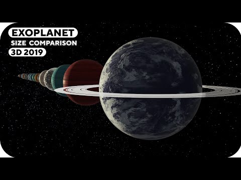 Exoplanet Size Comparison