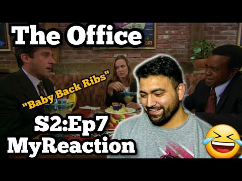 """The Office REACTION Season 2 Episode 7 """"The Client"""""""