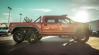 La Ford Raptor Mas Cara del Mundo!  6x6
