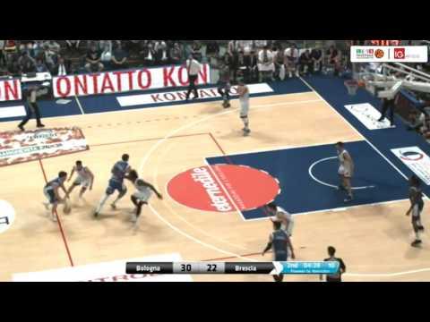 Fortitudo, gli highlights del match Gara 3 contro Brescia