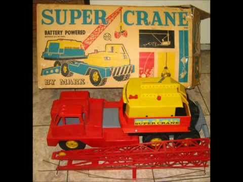 antique Toys 1950's - Several toys from the 50's 60's 70's a flip back to childhood.
