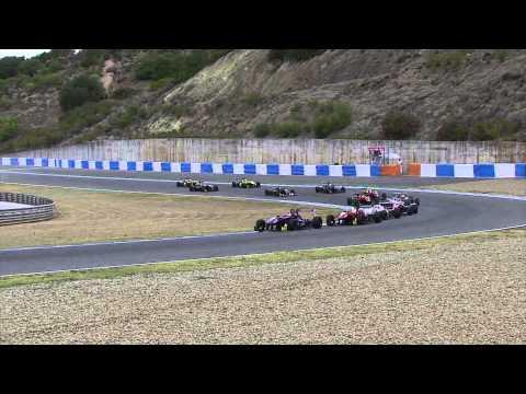 Jerez Race 2 Highlights – Euroformula Open round ROUND 3 SPAIN – Alex Palou