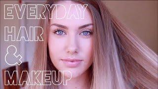Everyday Hair & Makeup Routine  ♥ stephaniemaii ♥