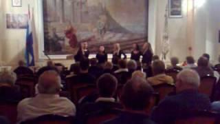 Ženska klapa Sveta Jelena Dramalj 24.10. 2009. - nastup u dvorani Narodne čitaonice Trsat.