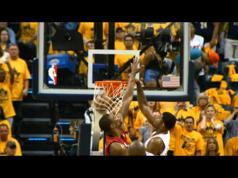 Paul George Dunk on Chris Bosh in Slow Motion