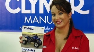 2. Clymer Manuals Yamaha Banshee Manual YFZ350 Manual ATV Four Wheeler Shop Manual Video