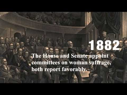19th amendment - This video made by Plymouth State University faculty and students, honors the 19th Amendment on Constitution Day, Sept. 17th, 2010.
