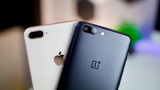 iPhone 8 Plus vs OnePlus 5 Camera Comparison