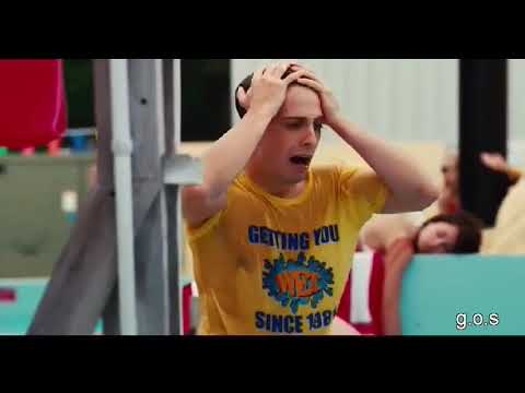 Piranha 3DD   The Flash's Danielle Panabaker drowns in pool   UNCONSCIOUS, CPR, TRAPPED