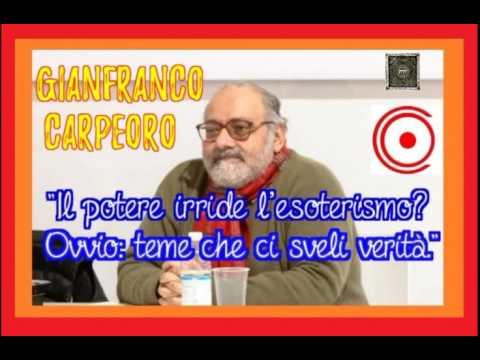 gianfranco carpeoro: la simbologia e l'esoterismo