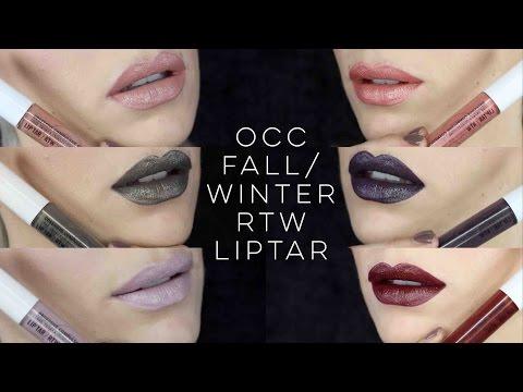 Obsessive Compulsive Cosmetics Fall/Winter RTW Liptar | Asphalt Collection