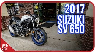 1. 2017 Suzuki SV 650 | First Ride