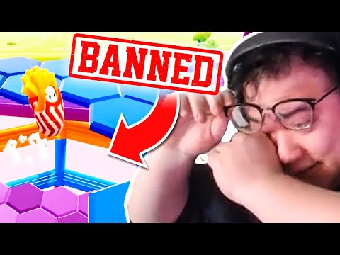 I GOT CAUGHT CHEATING?! SCARRA HACKING?! | Fall Guys w/ BoxBox