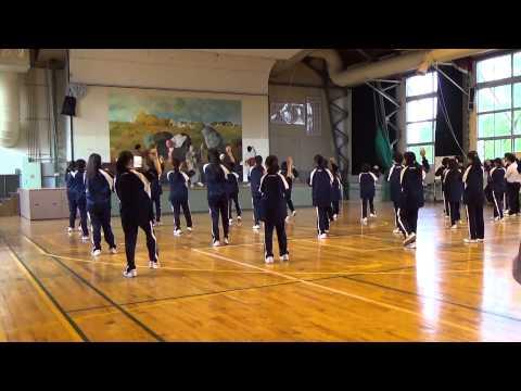 「踊ろう!潮音頭!」小樽市立北山中学校