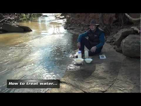 How to treat water by AdventurePro