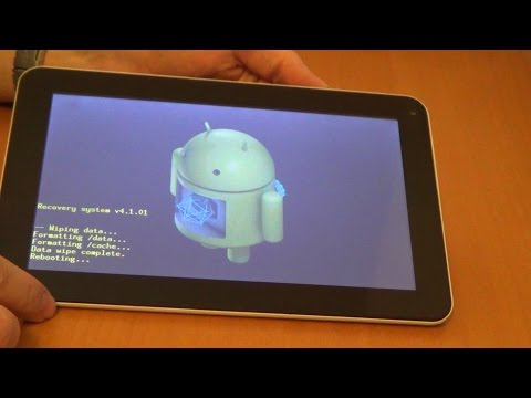 How to reset Chinese Android tablet