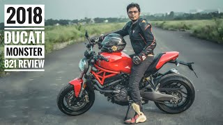 3. 2018 Ducati Monster 821 Review | Comparsion Z900 & street Triple | RWR