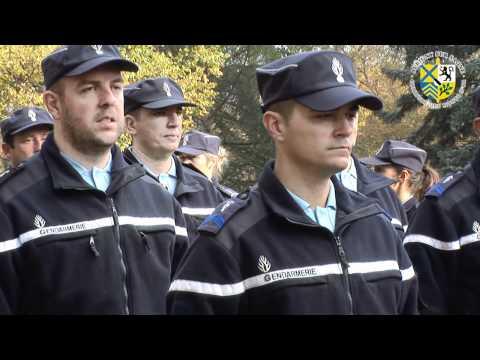 remises de médailles de la gendarmerie