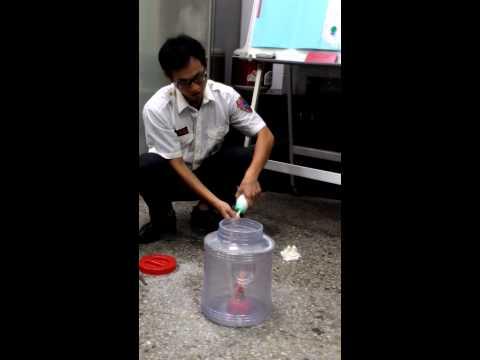 粉塵爆炸模擬實驗!