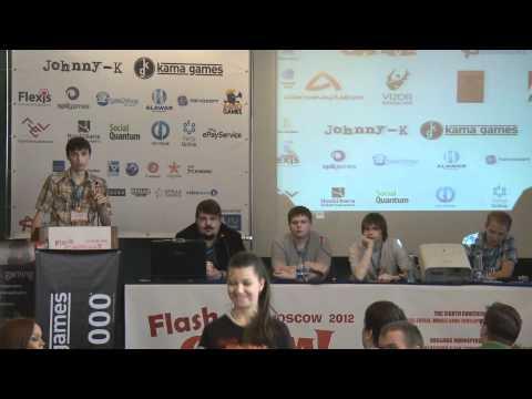 Разработка инди игр - с Johnny-K, Ant Karlov, Smrdis на FlashGAMM 2012