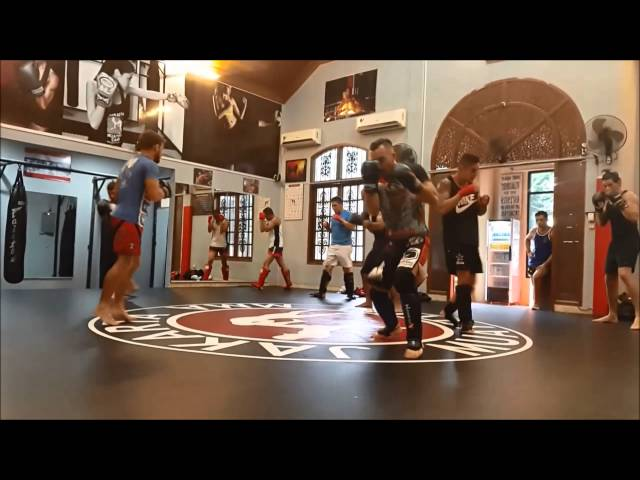 Martijn De Jong Seminar at Jakarta Muay Thai & MMA Training Camp