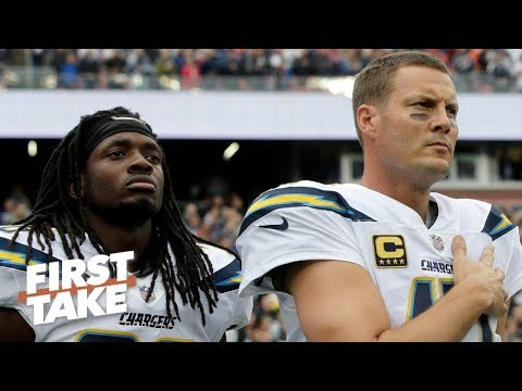 Video: Can the Chargers afford to lose Melvin Gordon with aging QB Philip Rivers? | First Take