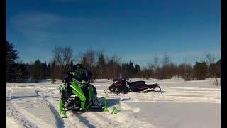 10. 2015 Arctic Cat LXR 6000 vs 2015 Ski-Doo backcountry 800R