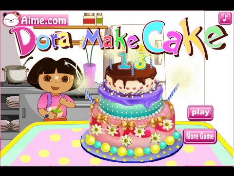 Dora The Explorer Games - Dora Cooking Game