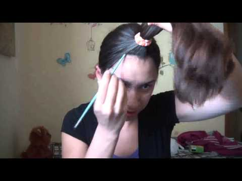Tutorial mechas californianas em casa - Como hacer mechas californianas en casa ...