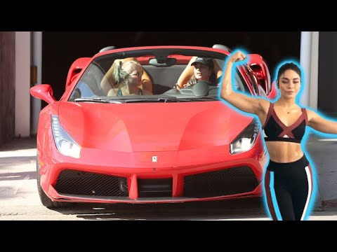 Vanessa Hudgens Shows Off Her New Whip As She Hits The Gym With GG Magree