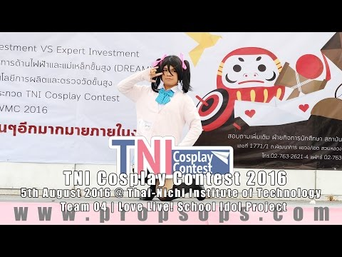 TNI Cosplay Contest 2016 | Team 4 – Love Live! School Idol Project